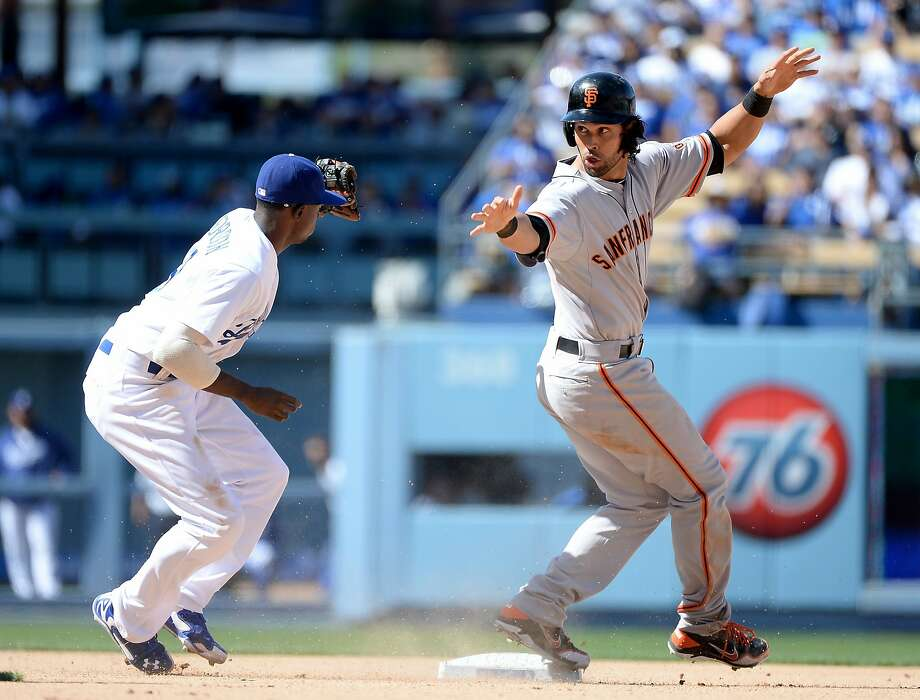 Since a back injury sidelined Angel Pagan in mid-June, the Giants are 9-17. Photo: Harry How, Getty Images