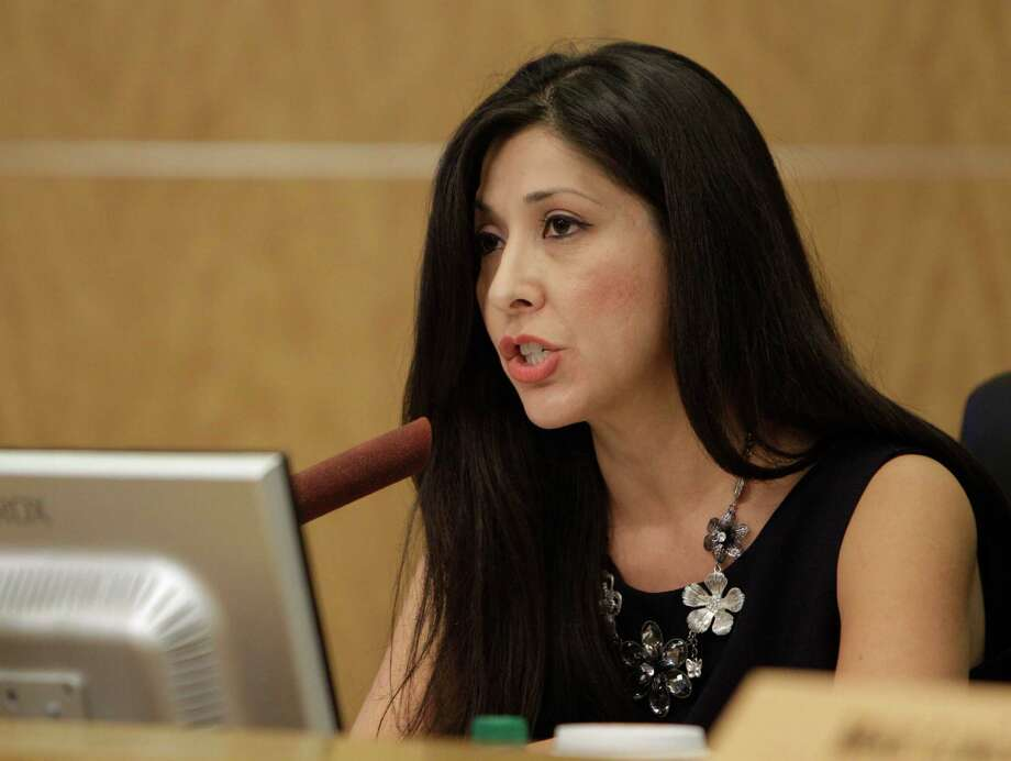HISD's audit committee chair Juliet Stipeche said she will seek internal and external audits of the 2012 bond program following concerns raised by a teacher at Davis High School. Photo: Melissa Phillip, Staff / © 2011 Houston Chronicle