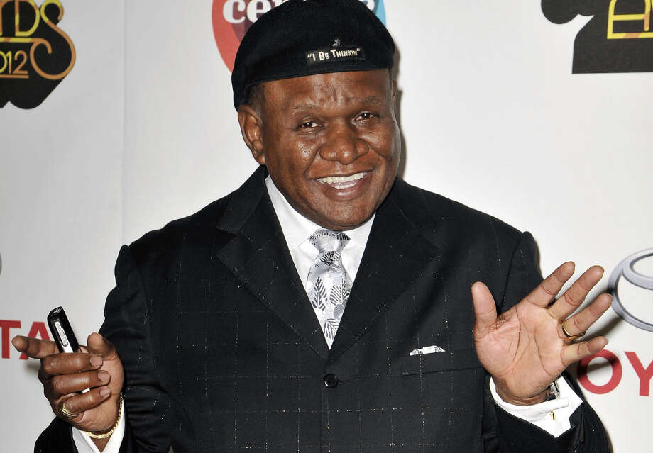 FILE - In this Nov. 8, 2012 file photo, actor and comedian George Wallace arrives at the Soul Train Awards in Las Vegas. Wallace is in a Las Vegas courtroom this week, seeking damages from a Las Vegas resort and a credit card company he blames for a leg injury he received when he tripped over electrical wiring during a private performance in December 2007. (Photo by Jeff Bottari/Invision/AP,File) Photo: Jeff Bottari, INVL / Invision