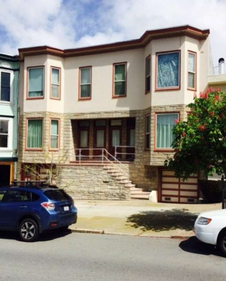 Yee and his wife, Maxine, own this building in Noe Valley,  but it was not listed in recent economic disclosure reports. Photo: Chronicle Staff