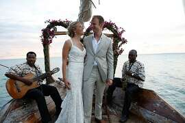 Heather Grabowski and Bartlomiej Jan Skorupa wed in Zanzibar, Africa,