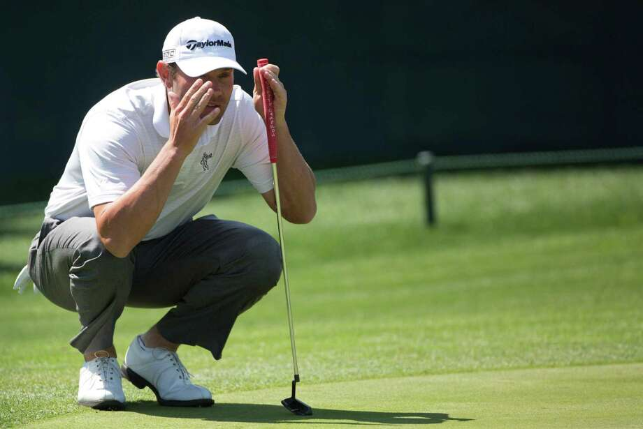 Shawn Stefani did his homework on the greens Friday, and his resulting 69 leaves the Baytown golfer just four shots back. Photo: Marie D. De Jesus, Staff / © 2014 Houston Chronicle