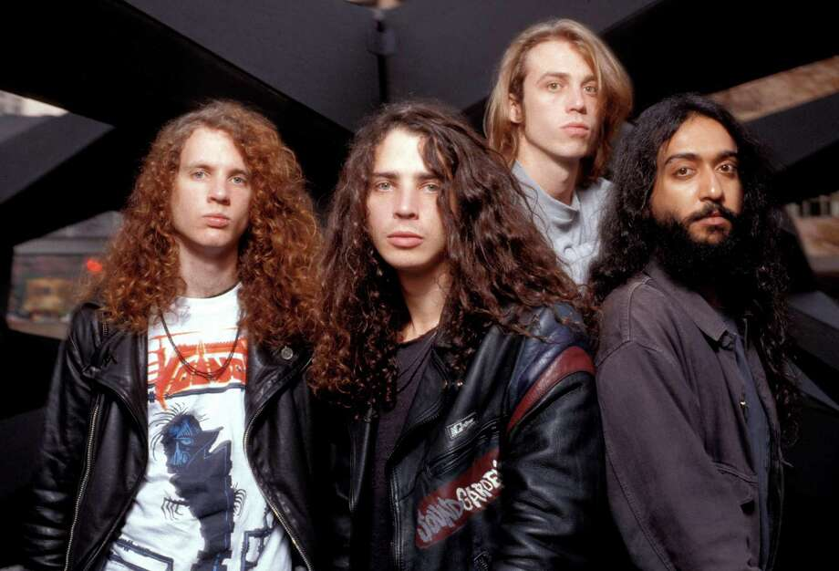 During the grunge heyday, Seattle was known for some very hairy bands. Here's Soundgarden in full hirsute glory in 1989.  Photo: Ebet Roberts/Redferns, Getty Images