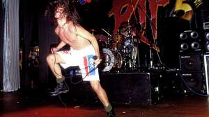Chris Cornell of Soundgarden performs in 1991 in Los Angeles.
