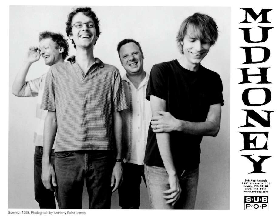 """Seattle's Mudhoney was an influential punk and rock band in the '80s, and one of the first to sign with Sub Pop. """"The first U.S. tour that Mudhoney did, we were happy to make $100 a show,"""" singer Mark Arm said recently. """"We were sleeping on people's floors, so it was a different thing then. And at the time, we never really thought there was something to be gained from this. We were doing this for kicks."""" Photo: ANTHONY SAINT JAMES, P-I File"""