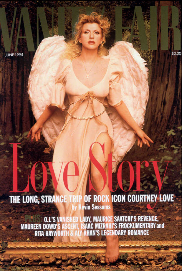 Courtney Love made waves in 1995, when Vanity Fair reported she used heroin when she was pregnant. Photo: AP, P-I File / VANITY FAIR