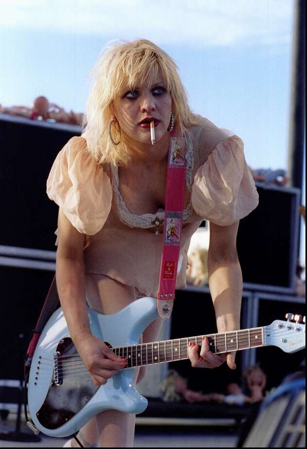 Courtney Love, 1995. (Photo: Lollapalooza at the Gorge in George, Wash.) Photo: PAUL JOSEPH BROWN, P-I File