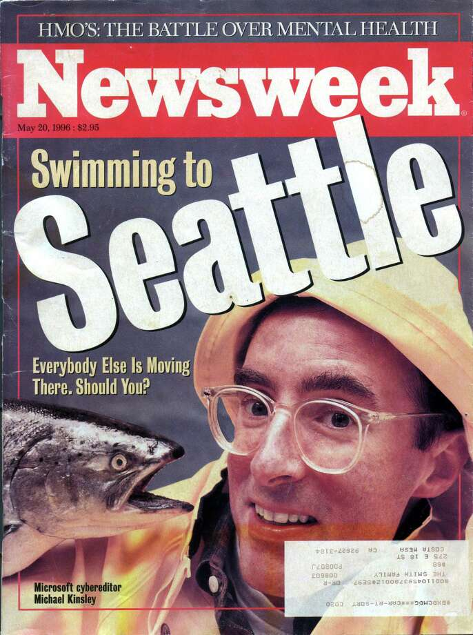 This Newsweek cover on Seattle came out in 1996.  Photo: P-I File