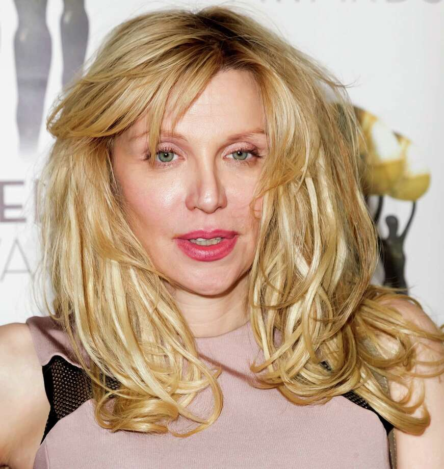 Courtney Love on Feb. 23, 2014, at the International Press Academy Satellite Awards in Los Angeles.  Photo: Rodrigo Vaz, Getty Images / 2014 Rodrigo Vaz