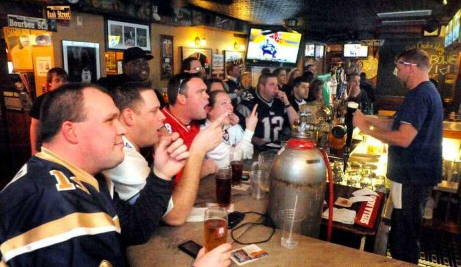 T.K's American Cafe in Danbury is a favorite spot among UConn fans.