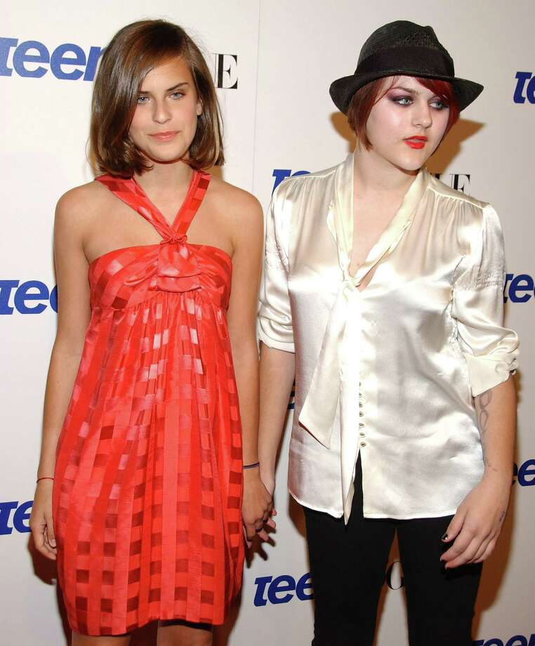 Frances Bean Cobain, right, and Tallulah Belle Willis pose at a Teen Vogue young Hollywood party on Sept. 20, 2007 in Los Angeles.  Photo: Jean-Paul Aussenard, Getty Images / 2007 Jean-Paul Aussenard