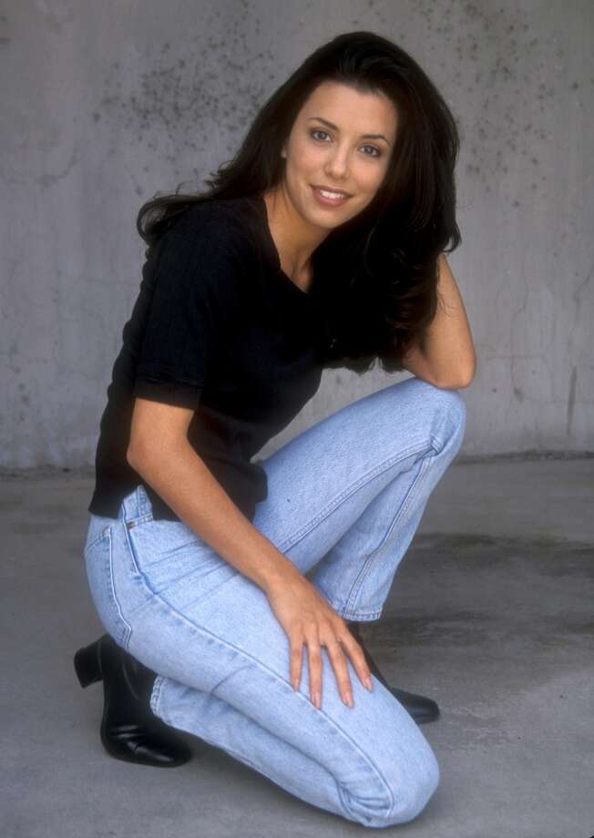 Here's Eva Longoria in 1998, looking very similar to the Eva Longoria we know now. Keep clicking for a look at her fashion evolution. Photo: Barry King, WireImage