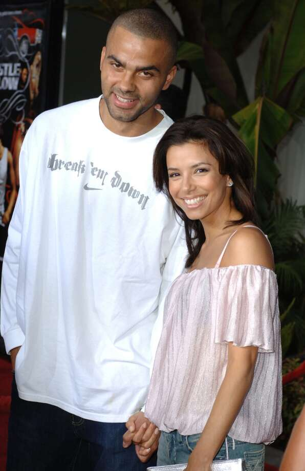 With Tony Parker in 2005 Photo: SGranitz, WireImage