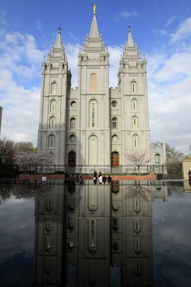 The Salt Lake Temple is shown during opening session of the two-day Mormon church conference Saturday, April 5, 2014, in Salt Lake City. Photo: Rick Bowmer, AP / AP