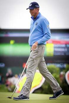 Matt Kuchar ended the third round of the Shell Houston Open first, Saturday, April 5, 2014, in Humble. Photo: Marie D. De Jesus, Houston Chronicle / © 2014 Houston Chronicle