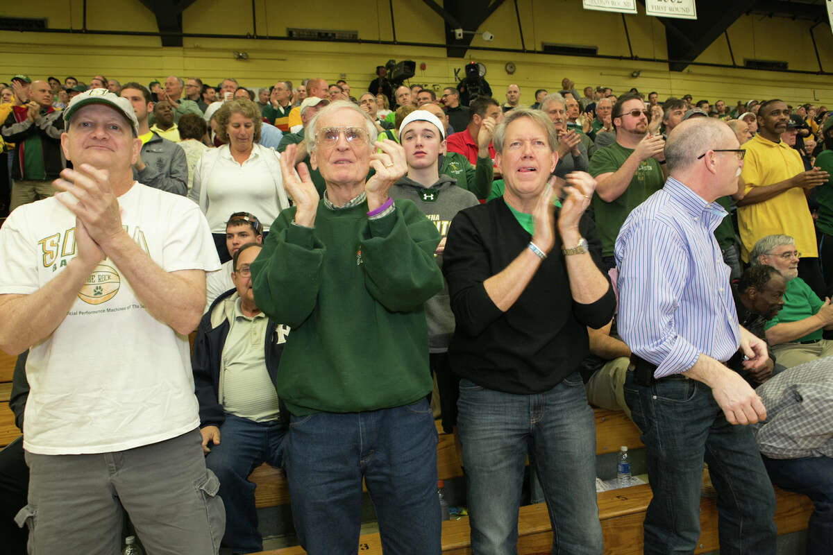 Were you Seen at the final game of the College Basketball Invitational championship series, Siena vs. Fresno State, at the Alumni Recreation Center on the Siena College campus in Loudonville on Saturday, April 5, 2014?