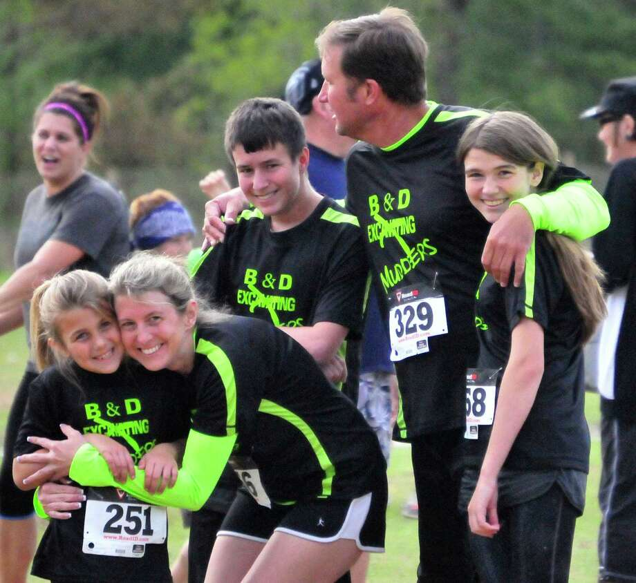 Residents of all ages gathered in Sour Lake to participate in the Mud Run 5K on Saturday morning in an event that benefited the American Cancer Society.  Photo taken Friday, 4/4/14 Cassie Smith/@smithcassie