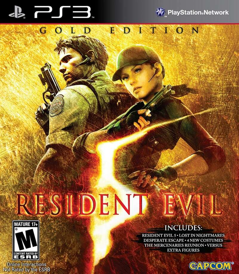 Resident Evil 5: Gold Edition Photo: Courtesy