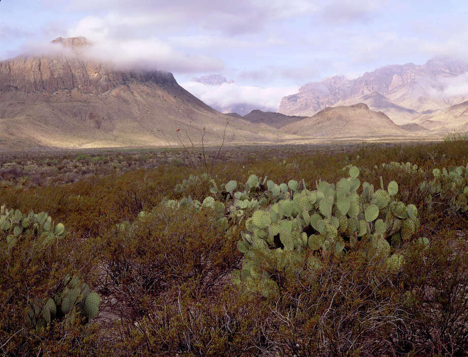 Big Bend Ranch State Park, seen here, has been classified as a Class 1 park due to it's clear skies at night which make stargazing there extra special. / handout