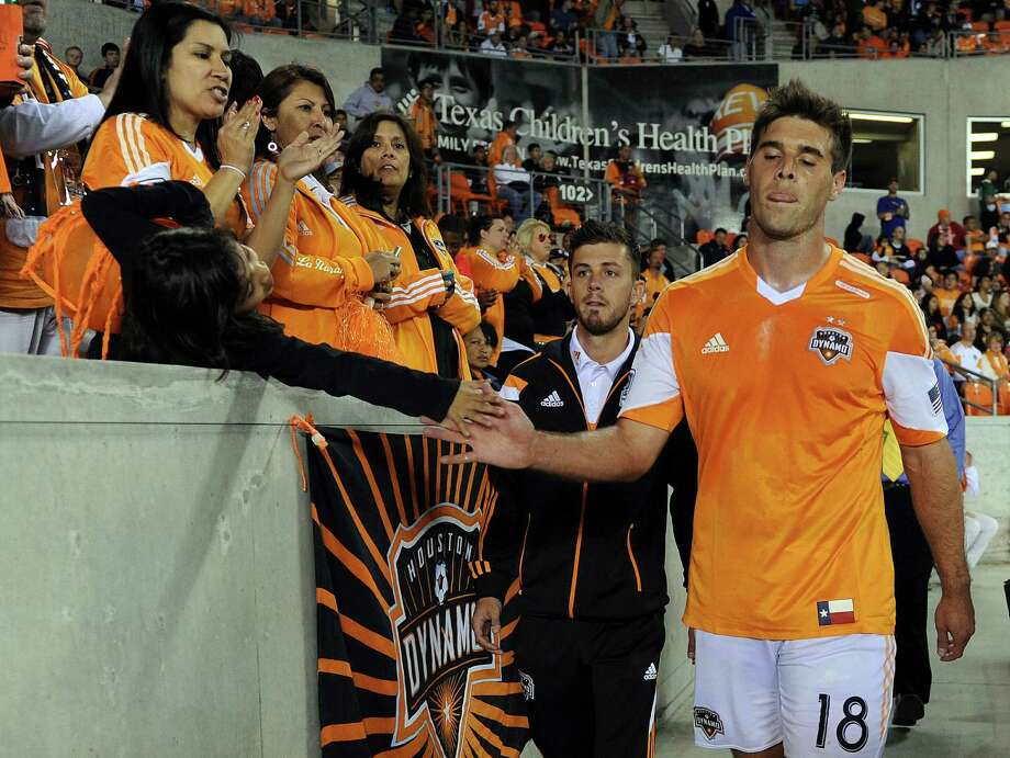 The Dynamo were unable to hold on for the tie in extra time. Photo: Eric Christian Smith, For The Chronicle