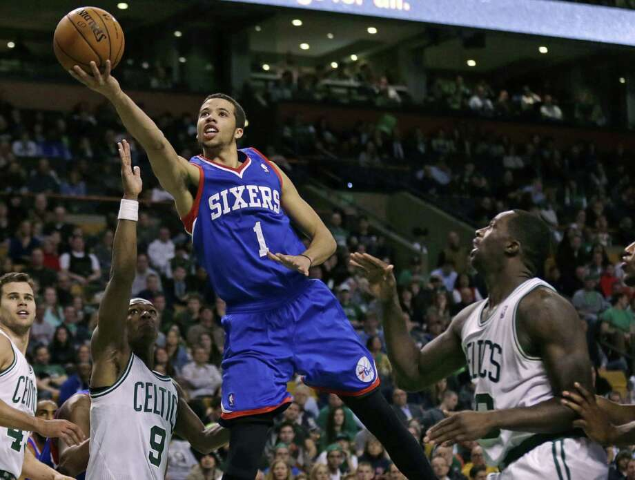76ers guard Michael Carter-Williams, a strong Rookie of the Year candidate, has put up impressive numbers despite playing on one of the worst teams in the league. Photo: Charles Krupa / Associated Press / AP