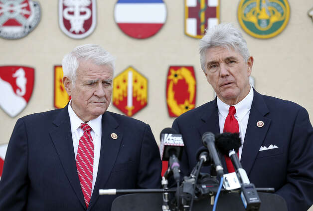 9. Reps. John Carter (left) NRA Direct Support: $27,950 Photo: Edward A. Ornelas / San Antonio Express-News / ©2014 San Antonio Express-News