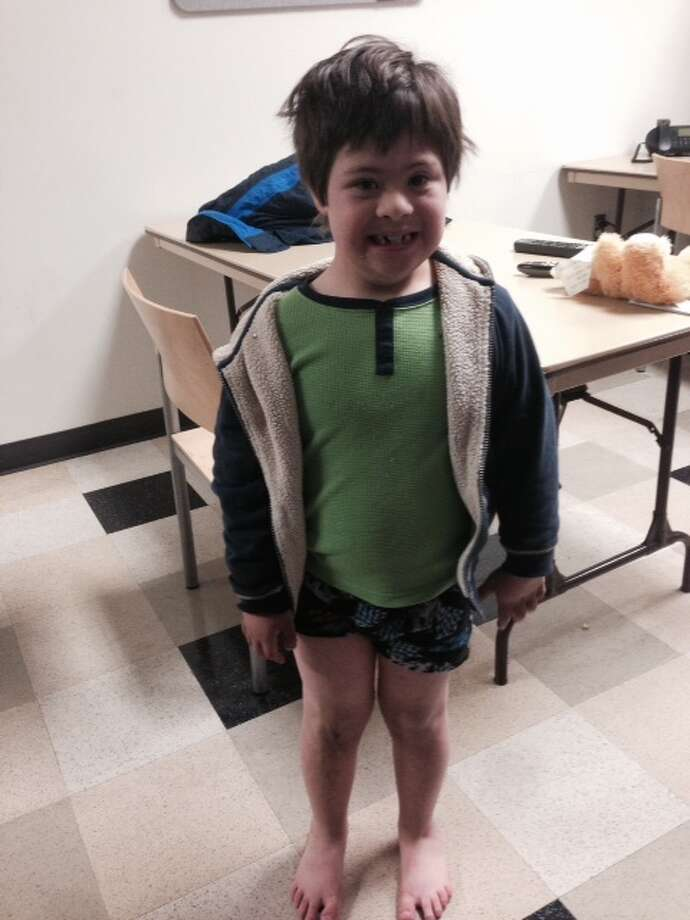 Menlo Park police are asking for the public's help in identifying this 8-year-old boy found wandering the streets. Photo: Menlo Park Police