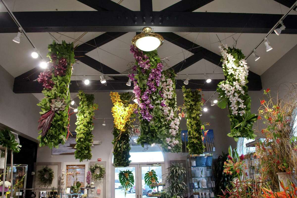 Nielsen's Florist and Garden Shop in Darien held a flower show to celebrate their 70 year anniversary of being in business from April 4-6.