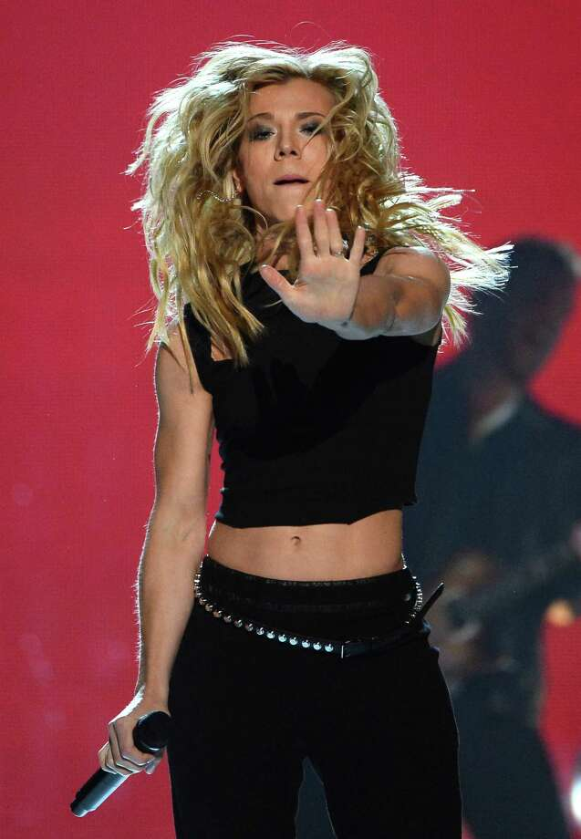LAS VEGAS, NV - APRIL 06:  Singer Kimberly Perry of The Band Perry performs onstage during the 49th Annual Academy Of Country Music Awards at the MGM Grand Garden Arena on April 6, 2014 in Las Vegas, Nevada. Photo: Ethan Miller, Getty Images / 2014 Getty Images