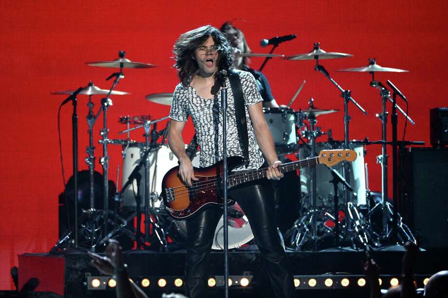 LAS VEGAS, NV - APRIL 06:  Musician Reid Perry of 'The Band Perry' performs onstage during the 49th Annual Academy Of Country Music Awards at the MGM Grand Garden Arena on April 6, 2014 in Las Vegas, Nevada. Photo: Ethan Miller, Getty Images / 2014 Getty Images
