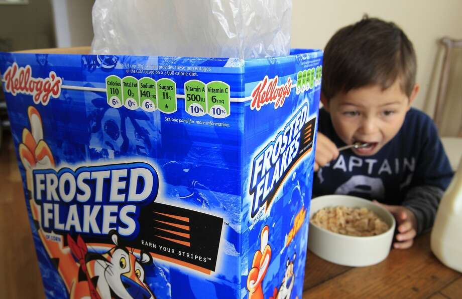 Breakfast cereals and other fortified foods are found to contribute at least half of children's daily vitamin and mineral intake. Photo: Paul Sakuma, Associated Press