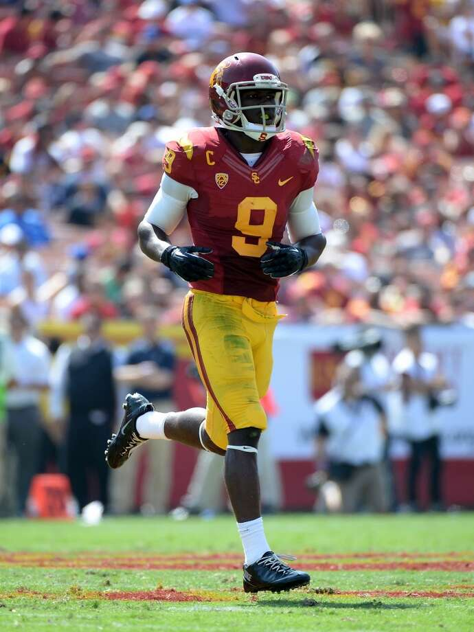 22. Philadelphia, Marqise Lee, WR, USC.  A talented replacement for the controversial DeSean Jackson.  Mock 1: Brandin Cooks, WR, Oregon State. Photo: Harry How, Getty Images