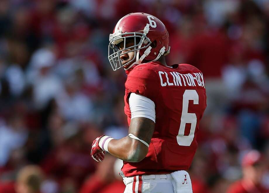 13. St. Louis: Ha Ha Clinton-Dix, S, Alabama.  Jeff Fisher gets the draft's best safety to help the secondary.  Mock 1: Mike Evans, WR, Texas A&M. Photo: Kevin C. Cox, Getty Images