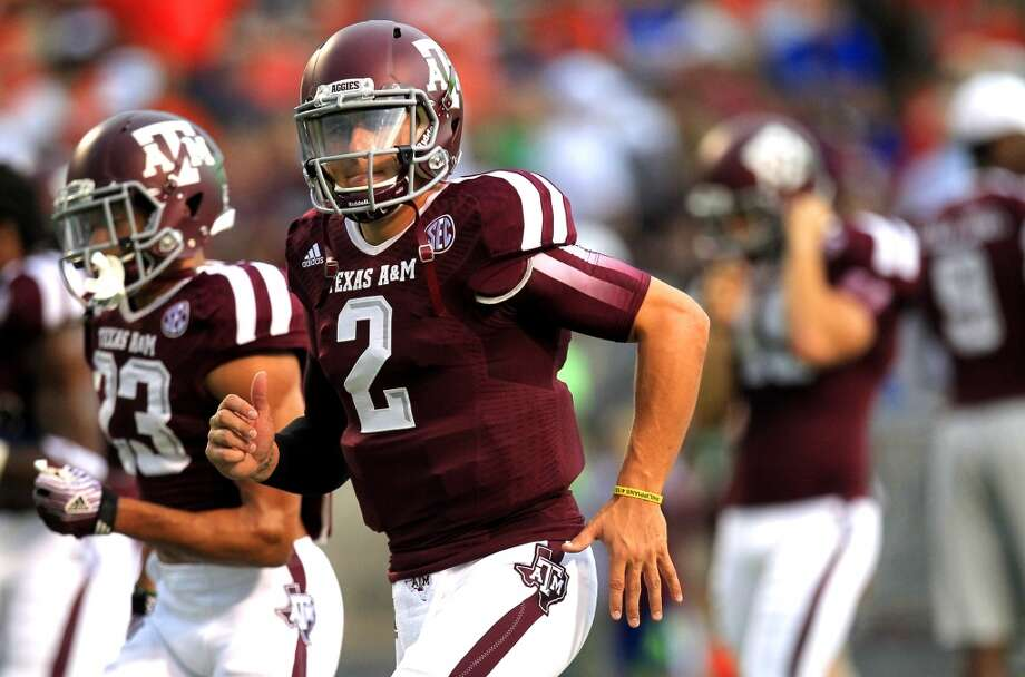 1. Houston: Johnny Manziel, QB, Texas A&M.  The experts want them to take Jadeveon Clowney but not this week.  Mock 1: Blake Bortles, QB, Central Florida. Photo: Cody Duty, Houston Chronicle