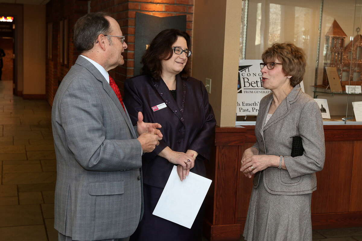 Were you Seen at the Albany Jewish Community Center's Pillars of the Community Awards brunch honoring Mark and Jane Levine, Benjamin and Ruth Mendel, and the Scher family at Congregation Beth Emeth in Albany on Sunday, April 6, 2014?