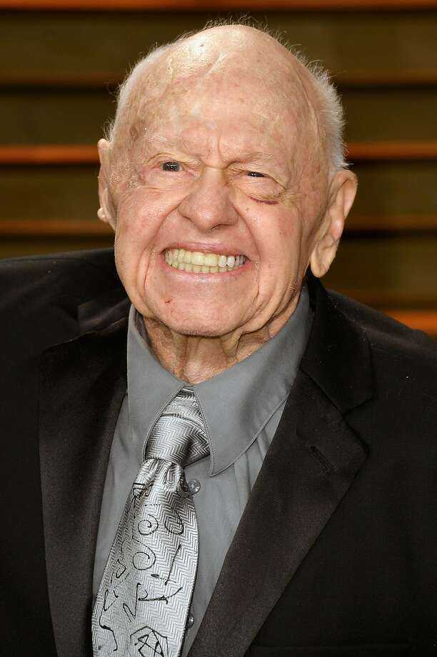 Actor Mickey Rooney attends the 2014 Vanity Fair Oscar Party hosted by Graydon Carter on March 2, 2014 in West Hollywood, California. Actor Mickey Rooney died Sunday, April 6, 2014, at age 93. Photo: Pascal Le Segretain, Getty Images