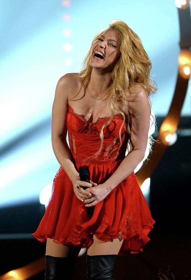 LAS VEGAS, NV - APRIL 06:  Singer Shakira performs onstage during the 49th Annual Academy Of Country Music Awards at the MGM Grand Garden Arena on April 6, 2014 in Las Vegas, Nevada. Photo: Ethan Miller, Getty Images / 2014 Getty Images