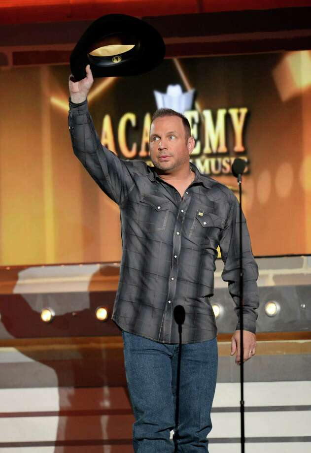 LAS VEGAS, NV - APRIL 06:  Singer/songwriter Garth Brooks speaks onstage during the 49th Annual Academy Of Country Music Awards at the MGM Grand Garden Arena on April 6, 2014 in Las Vegas, Nevada. Photo: Ethan Miller, Getty Images / 2014 Getty Images