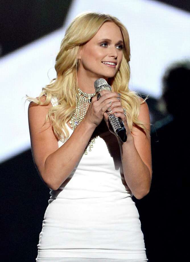LAS VEGAS, NV - APRIL 06:  Singer/songwriter Miranda Lambert onstage during the 49th Annual Academy Of Country Music Awards at the MGM Grand Garden Arena on April 6, 2014 in Las Vegas, Nevada. Photo: Ethan Miller, Getty Images / 2014 Getty Images