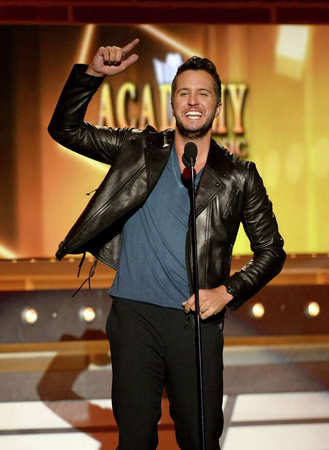 LAS VEGAS, NV - APRIL 06:  Singer Luke Bryan performs onstage during the 49th Annual Academy Of Country Music Awards at the MGM Grand Garden Arena on April 6, 2014 in Las Vegas, Nevada. Photo: Ethan Miller, Getty Images / 2014 Getty Images
