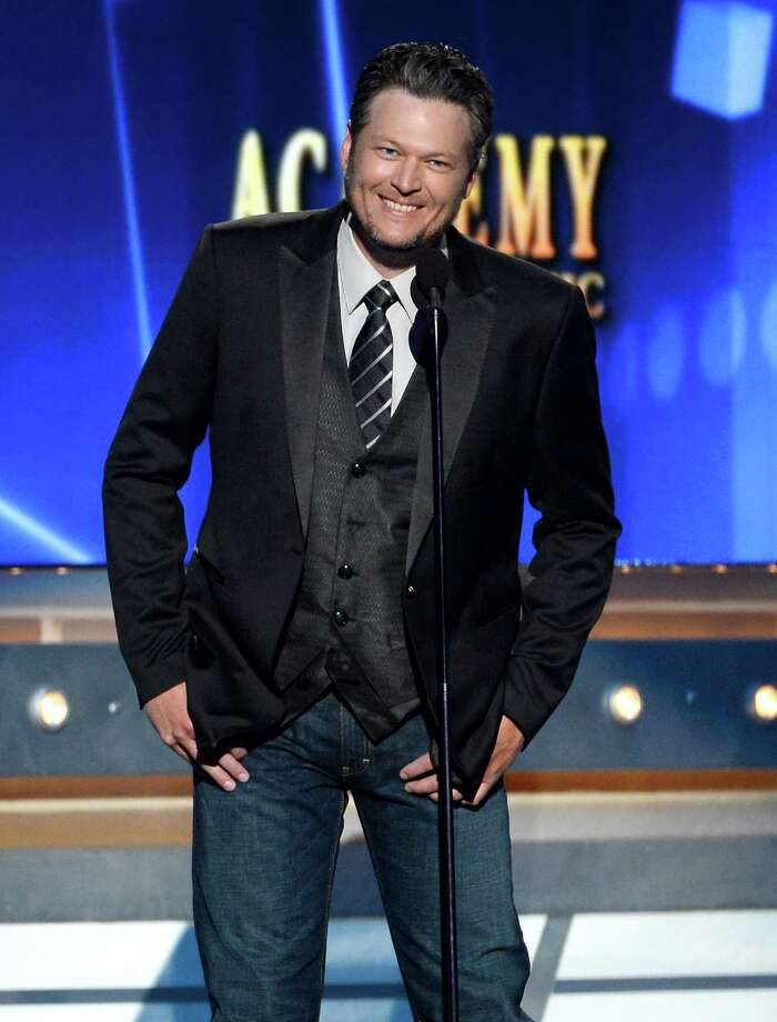 LAS VEGAS, NV - APRIL 06:  Co-host Blake Shelton speaks onstage during the 49th Annual Academy Of Country Music Awards at the MGM Grand Garden Arena on April 6, 2014 in Las Vegas, Nevada. Photo: Ethan Miller, Getty Images / 2014 Getty Images