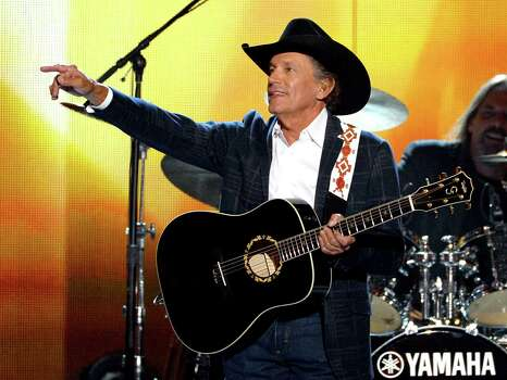 Country music icon George Strait was born in Poteet, south of San Antonio, and grew up in Pearsall. Photo: Ethan Miller, Staff / 2014 Getty Images