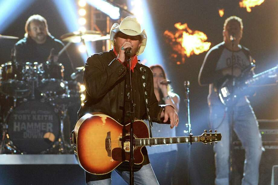 LAS VEGAS, NV - APRIL 06:  Singer Toby Keith performs onstage during the 49th Annual Academy Of Country Music Awards at the MGM Grand Garden Arena on April 6, 2014 in Las Vegas, Nevada. Photo: Ethan Miller, Getty Images / 2014 Getty Images