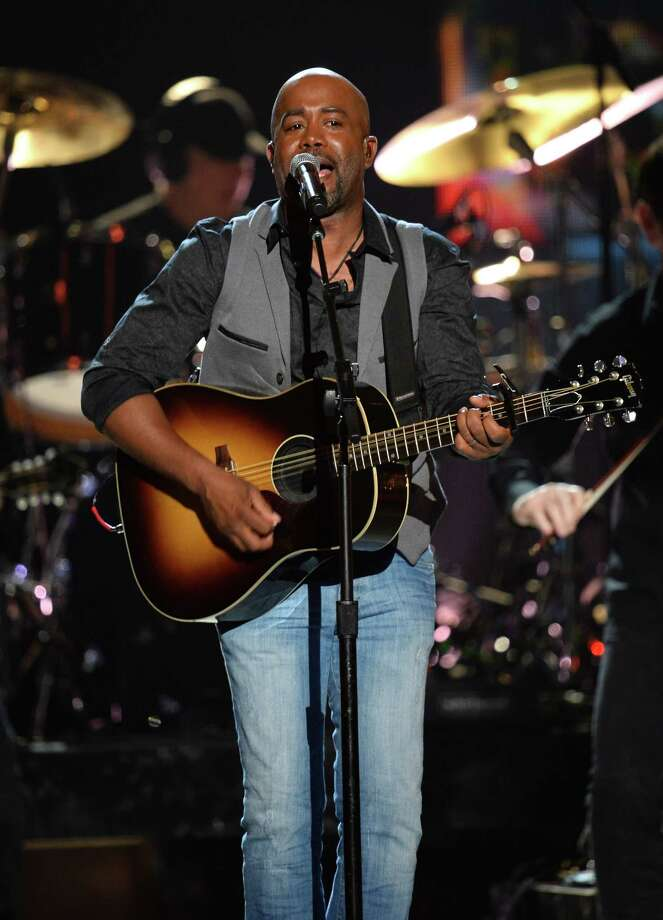 LAS VEGAS, NV - APRIL 06:  Singer Darius Rucker performs onstage during the 49th Annual Academy Of Country Music Awards at the MGM Grand Garden Arena on April 6, 2014 in Las Vegas, Nevada. Photo: Ethan Miller, Getty Images / 2014 Getty Images