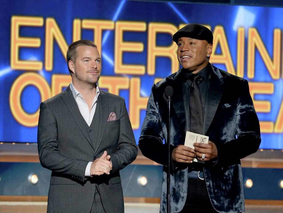 LAS VEGAS, NV - APRIL 06:  Actors Chris O'Donnell (L) and LL Cool J speak onstage during the 49th Annual Academy Of Country Music Awards at the MGM Grand Garden Arena on April 6, 2014 in Las Vegas, Nevada. Photo: Ethan Miller, Getty Images / 2014 Getty Images