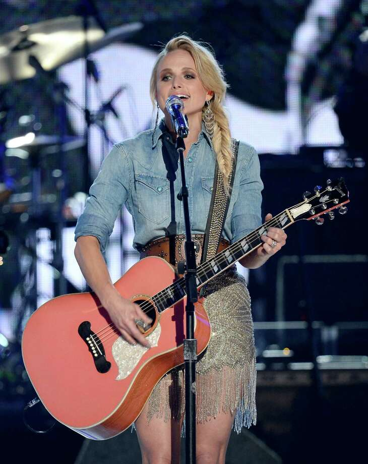 LAS VEGAS, NV - APRIL 06:  Singer Miranda Lambert performs onstage during the 49th Annual Academy Of Country Music Awards at the MGM Grand Garden Arena on April 6, 2014 in Las Vegas, Nevada. Photo: Ethan Miller, Getty Images / 2014 Getty Images