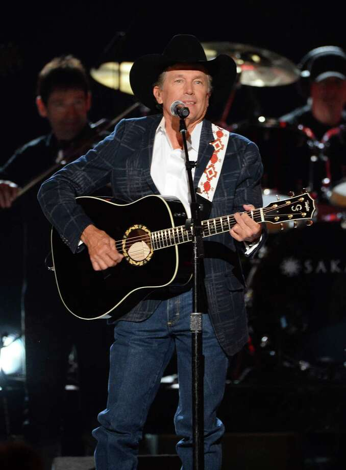 LAS VEGAS, NV - APRIL 06:  Singer/songwriter George Strait performs onstage during the 49th Annual Academy Of Country Music Awards at the MGM Grand Garden Arena on April 6, 2014 in Las Vegas, Nevada. Photo: Ethan Miller, Getty Images / 2014 Getty Images