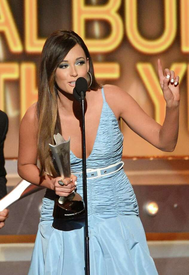 LAS VEGAS, NV - APRIL 06:  Singer/songwriter Kacey Musgraves accepts the Album of the Year award for 'Same Trailer Different Park' onstage during the 49th Annual Academy Of Country Music Awards at the MGM Grand Garden Arena on April 6, 2014 in Las Vegas, Nevada. Photo: Ethan Miller, Getty Images / 2014 Getty Images