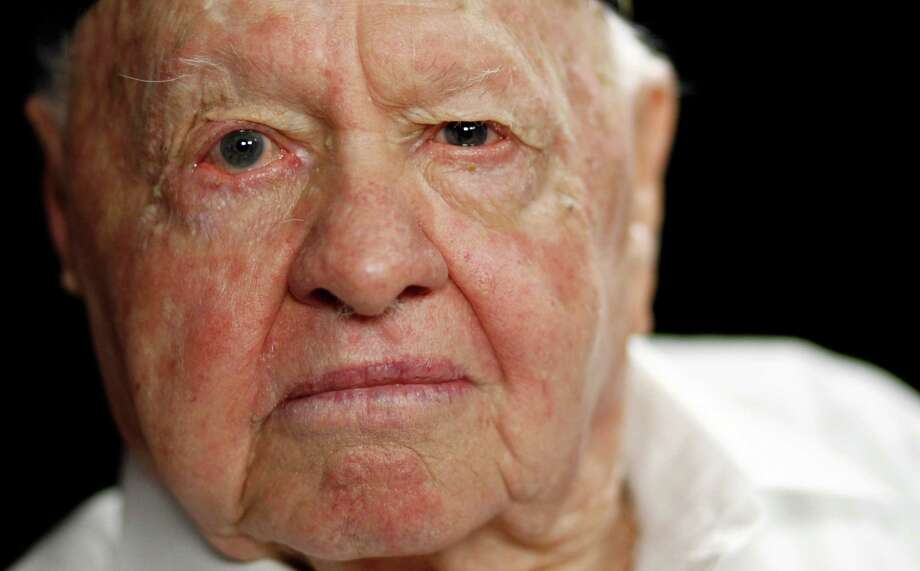 In this Thursday, May 19, 2011 file photo, Actor Mickey Rooney, is seen here during a portrait session in Los Angeles. Rooney has accused his stepson and others of stealing his income and abusing him in a lawsuit filed in Los Angeles Superior Court Thursday, Sept. 15, 2011. (AP Photo/Matt Sayles, File) Photo: AP / AP2011