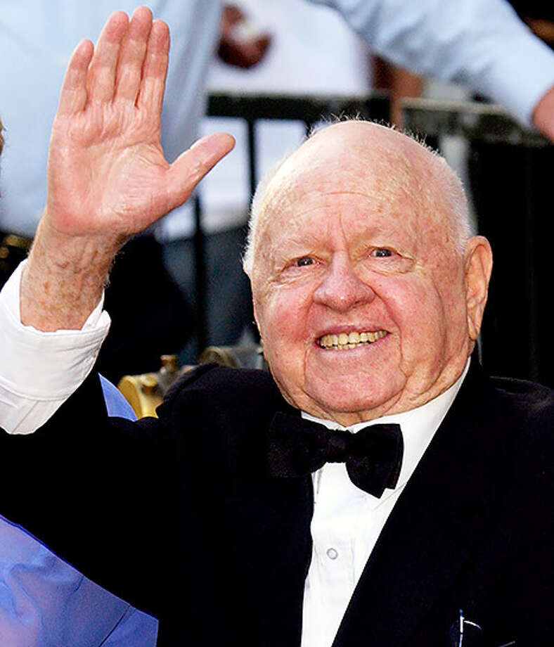 Actor Mickey Rooney died Sunday, April 6, 2014, at age 93. / 2004 Getty Images